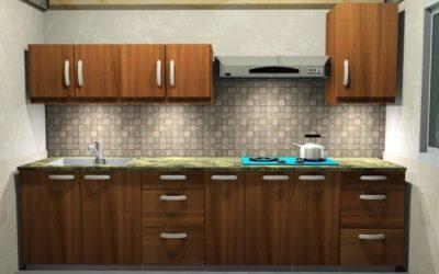 Rustic Teak Kitchen Sabah