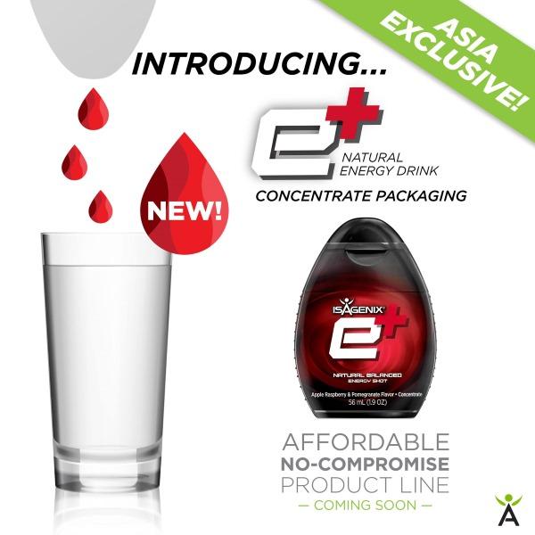 e+ Isagenix Sabah product