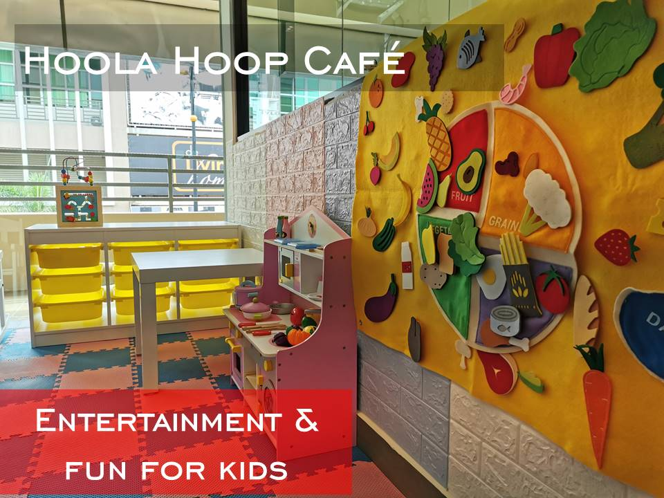 Hoola Hoop cafe Entertainment area for kids