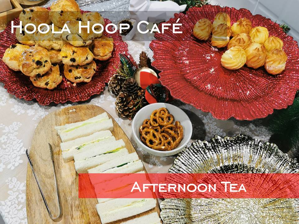 Hoola Hoop Cafe Afternoon Tea